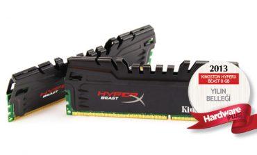 2013'ün en iyi bellek kiti: Kingston HyperX Beast 8 GB