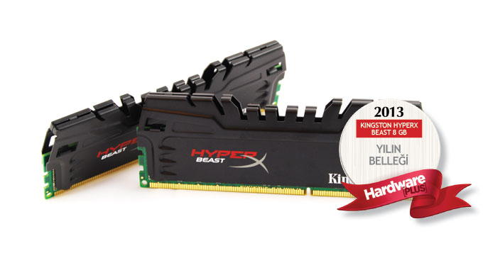 2013'ün en iyi bellek kiti: Kingston HyperX Beast 8 GB