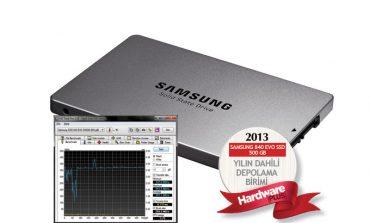 2013'ün en iyi SSD'si: Samsung 840 Evo SSD 500GB