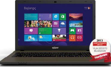 2013'ün en iyi dizüstü bilgisayarı: EXPER ULTRANOTE A5B-C64
