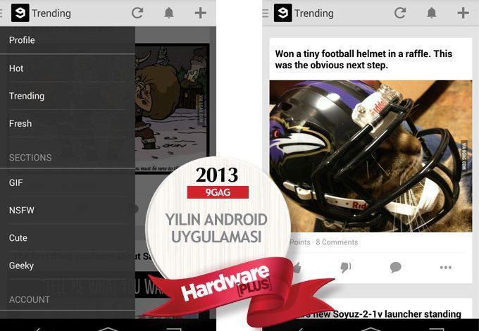 2013'ün en iyi Android uygulaması: 9GAG