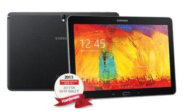 2013'ün en iyi tableti: Yeni Samsung Galaxy Note 10.1