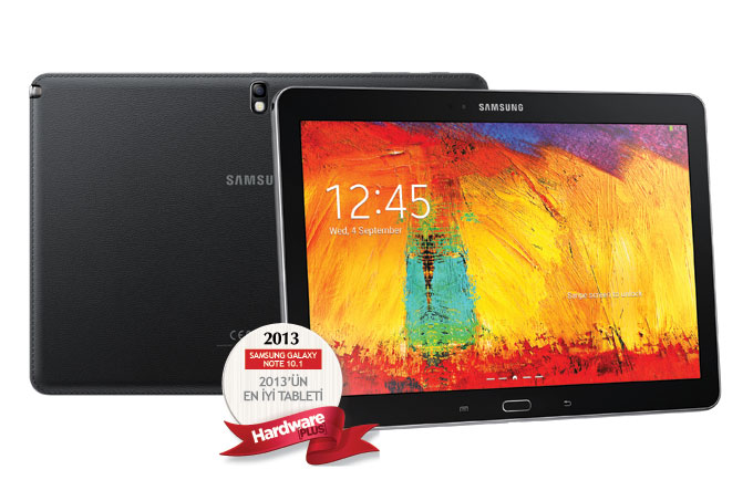 2013'ün en iyi tableti: Yeni Samsung Galaxy Note 10.1