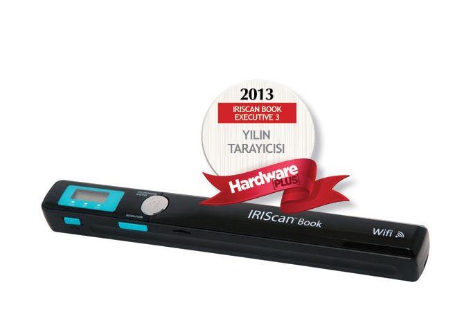 2013'ün en iyi tarayıcısı: IRIScan Book Executive 3