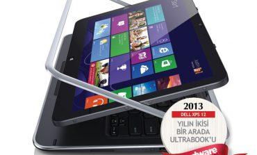 2013'ün en iyi ikisi bir arada Ultrabook'u: DELL XPS 12