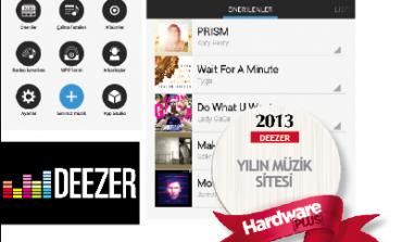 2013'ün en iyi müzik sitesi: Deezer