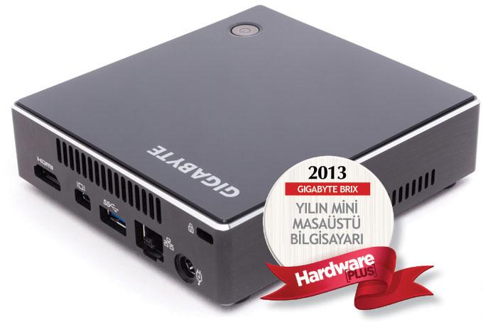 2013'ün en iyi mini masaüstü bilgisayarı: GIGABYTE BRIX