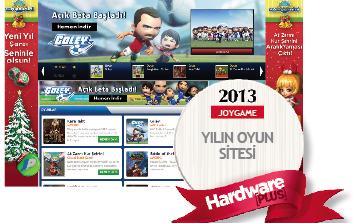 2013'ün en iyi oyun sitesi: Joygame