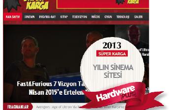 2013'ün en iyi sinema sitesi: Süper Karga
