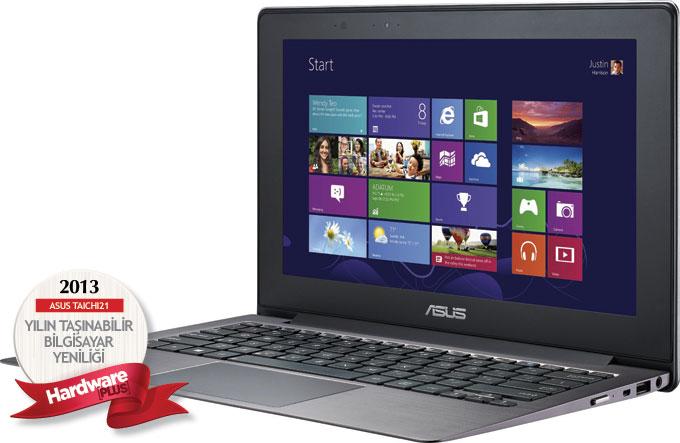 2013'ün en iyi taşınabilir bilgisayar yeniliği: ASUS TAICHI21