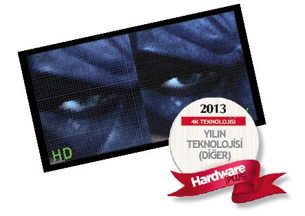 2013'ün en iyi teknolojisi (diğer) : 4K teknolojisi