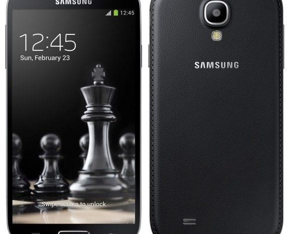 Galaxy S4 ve S4 Mini, siyaha büründü
