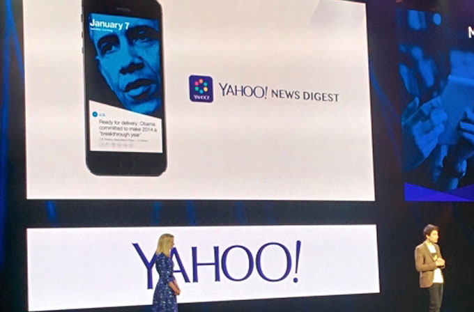 Yahoo'nun yeni uygulaması News Digest iOS'ta yerini aldı