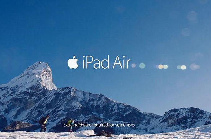 Apple, iPad Air için yeni TV reklamını yayınlandı