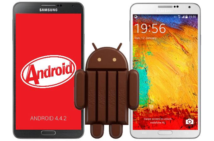 Galaxy Note 3 ve Galaxy S4'te Android 4.4.2 ile neler değişiyor?