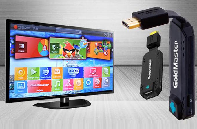 Televizyonunuzu Android'li akıllı TV'ye dönüştürün: Goldmaster HDM-218 Cutie