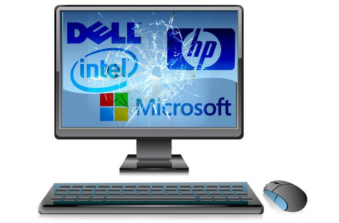 PC satışlarının düşüşü engellenemiyor