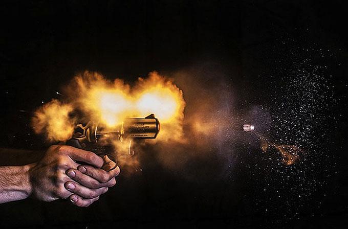 Galeri: Ateşlendikten saliseler sonra fotoğraflanan silahlar