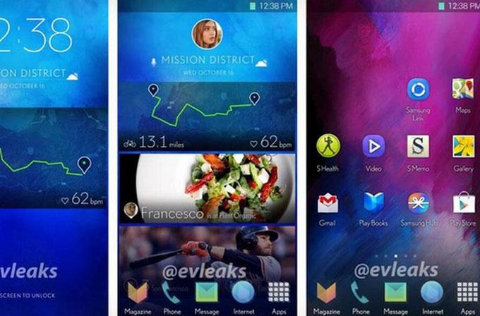 Samsung'un telefonlar için tasarladığı yeni arayüzü sızdırıldı