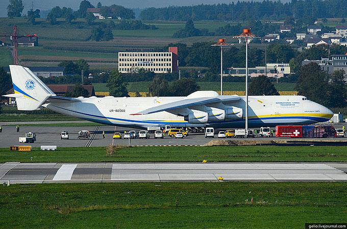 Galeri: Dünyanın en büyük uçağından harika görüntüler