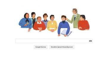 Google'dan Ertem Eğilmez'e özel Doodle