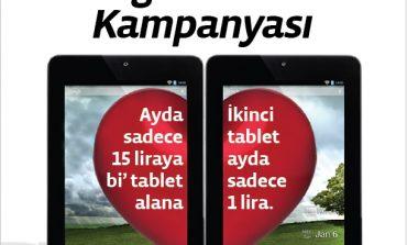Türk Telekom'dan sevgililer gününe özel tablet kampanyası
