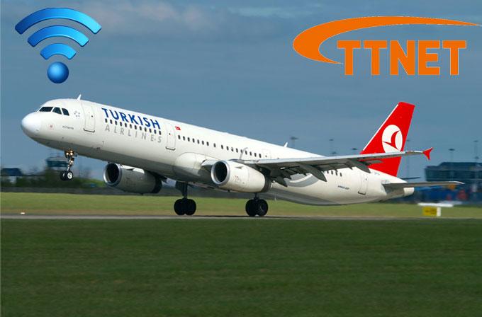 Her uçağa internet mi geliyor?