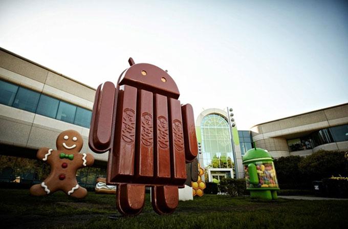 Android KitKat kullanımı sadece yüzde 1.8 kullanımı ile dikkat çekiyor