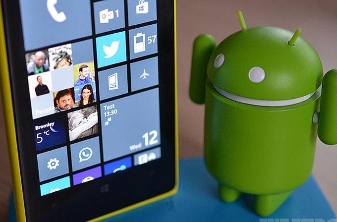 Windows Phone'a Android uygulamaları mı geliyor?!