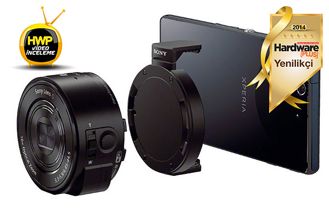 Video İnceleme: Sony QX10 akıllı kamera lensi