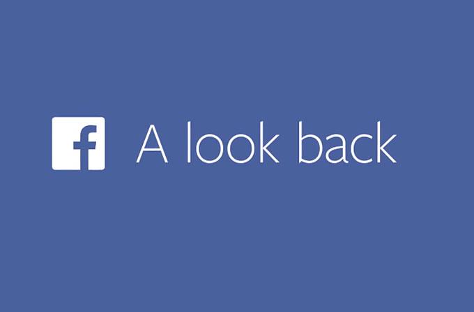 """Facebook'un """"Geçmişe bir bakış"""" videoları çok tuttu"""