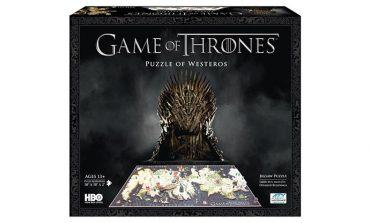 3 boyutlu Game of Thrones puzzle!