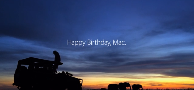 Apple, Mac'in 30. yılını kutlamaya devam ediyor (video)
