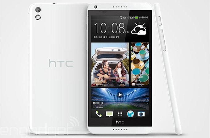 HTC'den orta segmente şık telefon: Desire 8