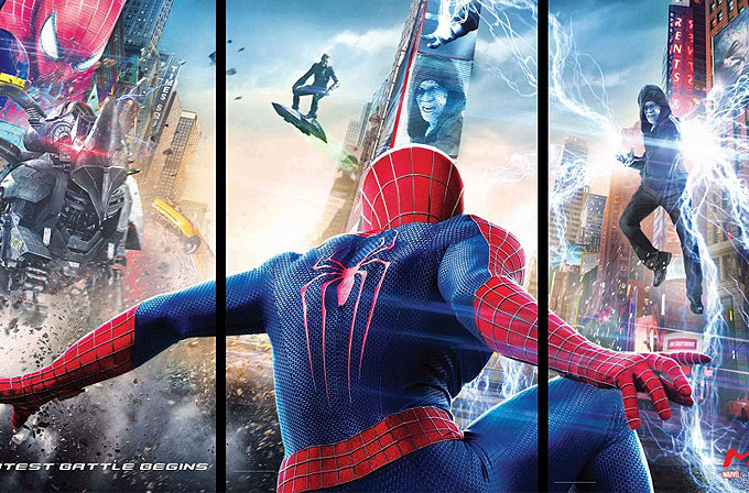 Super Bowl'da Amazing Spider Man 2'nin üç yeni videosu yayınlandı