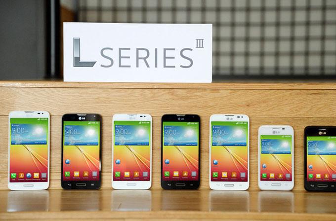 LG'den üç yeni telefon: L90, L70 ve L40
