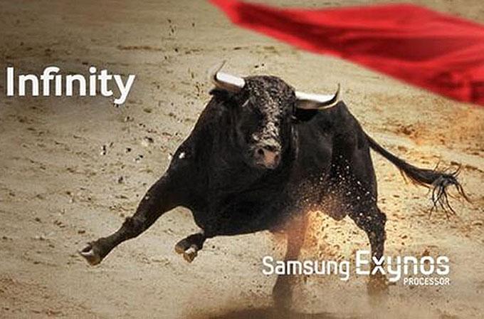 Samsung'tan Exynos Infinity teaser'ı