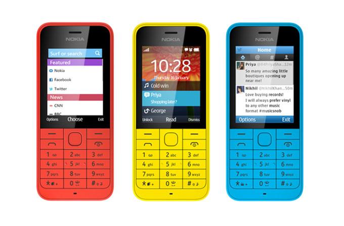 MWC 2014: Nokia'dan bütçe dostu Asha modelleri