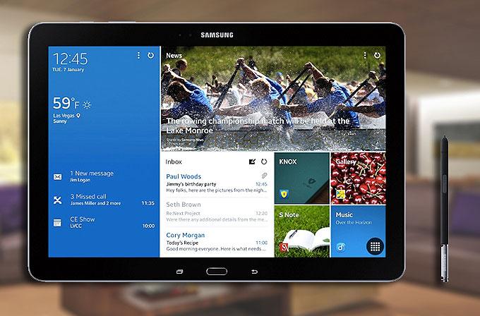 Samsung'un süper tableti ön siparişe açıldı