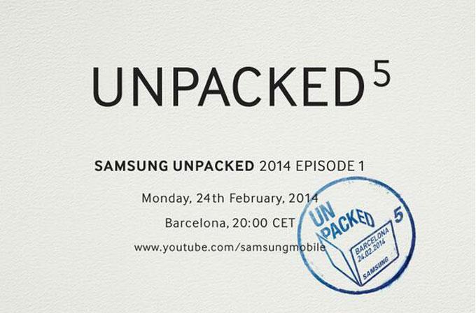 Samsung Unpacked 5 etkinlik tarihi onaylandı: Galaxy S5'mi tanıtılacak?