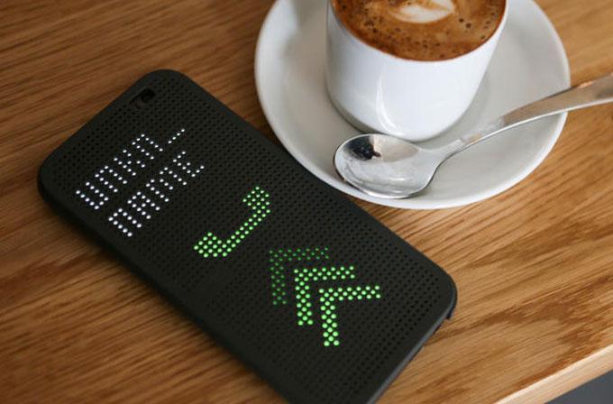 HTC One'ın Dot View kılıfları satışta
