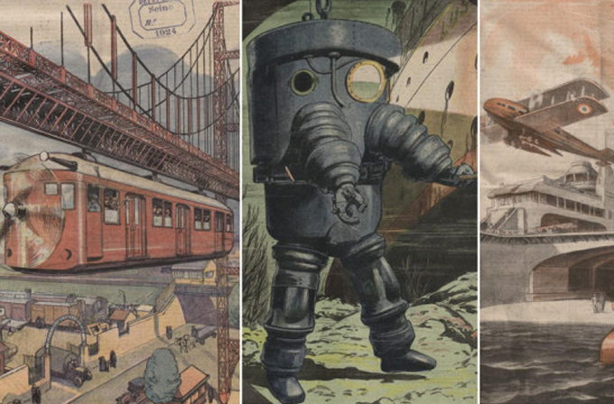 Galeri: 100 yıl önceki insanların gelecekten beklentileri böyleydi