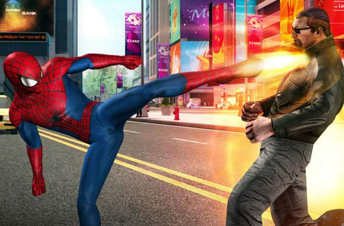 The Amazing Spider-Man 2 mobil platformlara geliyor