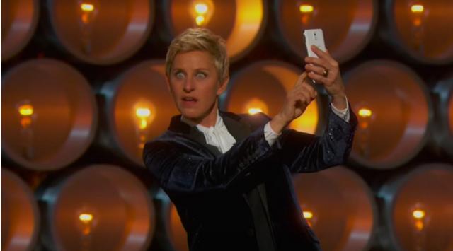 Ellen DeGeneres, Oscar'da Samsung sponsorluğunda selfie çekti