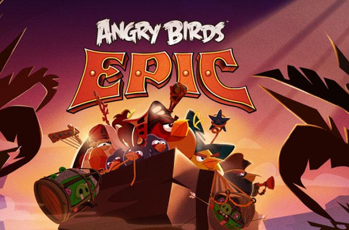 Angry Birds: Epic geliyor!