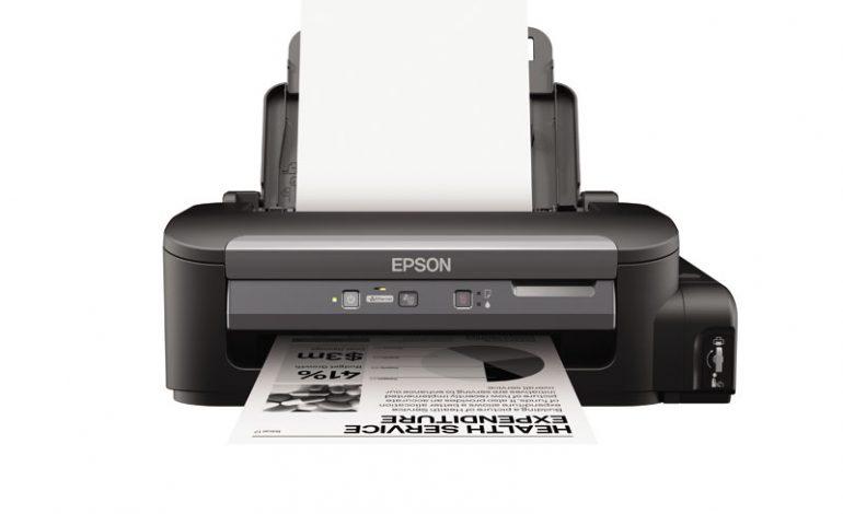 İş kullanımları için: Epson WorkForce M100