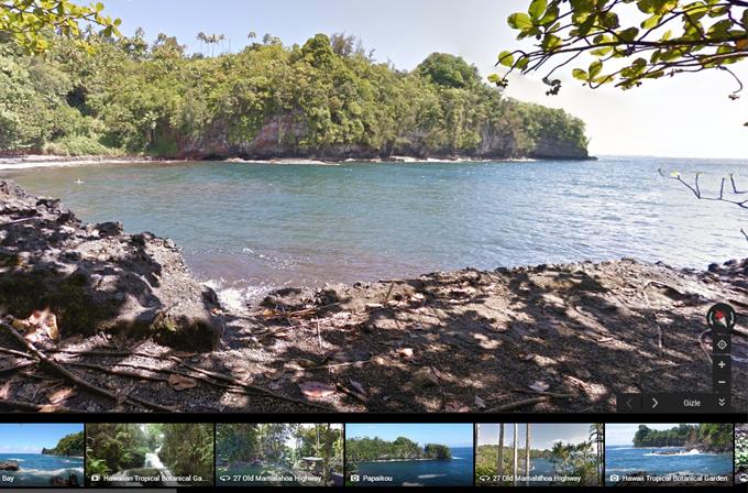 Google Street View ile Hawaii'yi ziyaret edin!