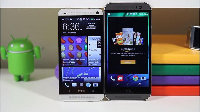 HTC One 2014 ile HTC One M7 karşılaştırmasını izleyin