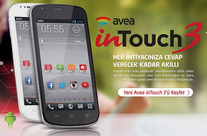 Avea inTouch 3 tanıtıldı