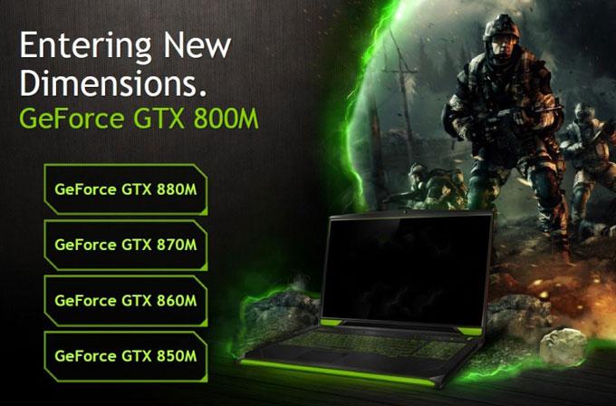 Nvidia 800M serisi ekran kartlarını duyurdu